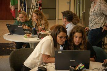 leChaudron.io à la Société Marseillaise de Crédit à Nice atelier code en famille