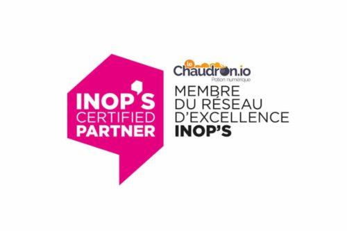 leChaudron.io certifié partenaire d'excellence Inop's