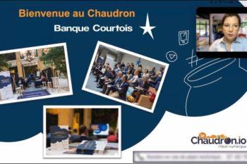 Groupe Crédit du Nord Chaudron pop-up